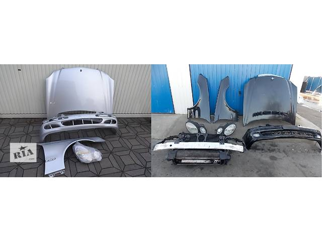 купить бу Б/у капот для легкового авто Mercedes E-Class w211 02-09 в Львове