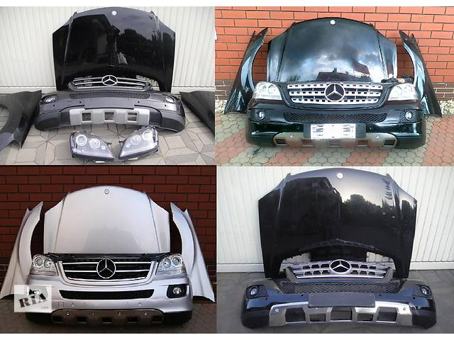 продам Б/у капот для легкового авто Mercedes ML-Class w164 05-11 бу в Львове