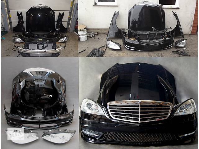 бу Б/у капот для легкового авто Mercedes S-Class w221 05-13 в Львове