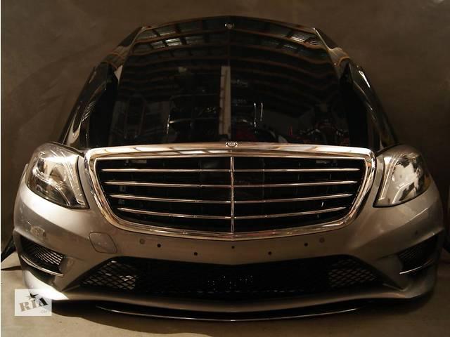 бу Б/у капот для легкового авто Mercedes S-Class w222 13- в Львове