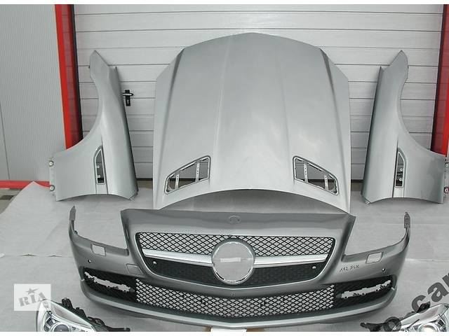 продам Б/у капот для легкового авто Mercedes SLK-Class w172 11- бу в Львове