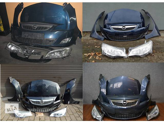 бу Б/у капот для легкового авто Opel Astra J в Львове