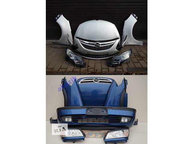 бу Б/у капот для легкового авто Opel Zafira в Львове