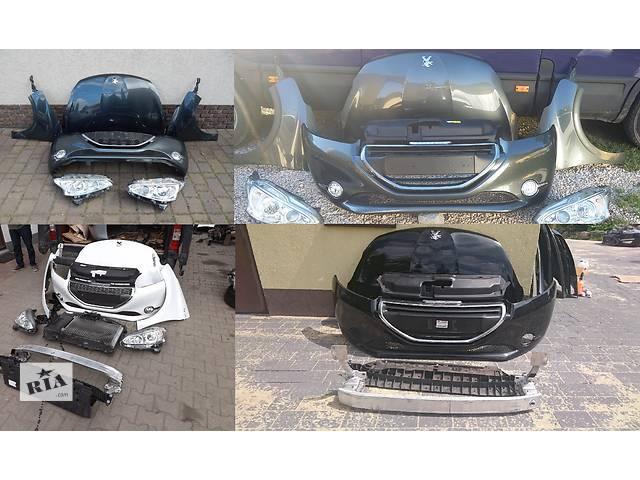 продам Б/у капот для легкового авто Peugeot 208 бу в Львове