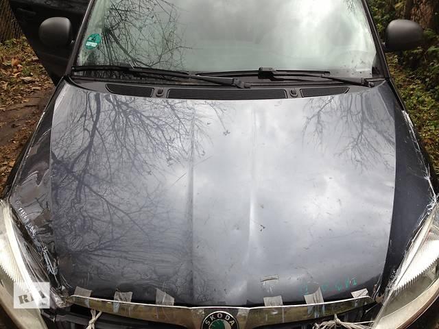 бу Б/у капот для легкового авто Skoda Fabia 2 в Долине