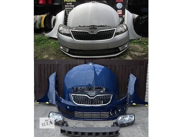 купить бу Б/у капот для легкового авто Skoda Rapid в Львове