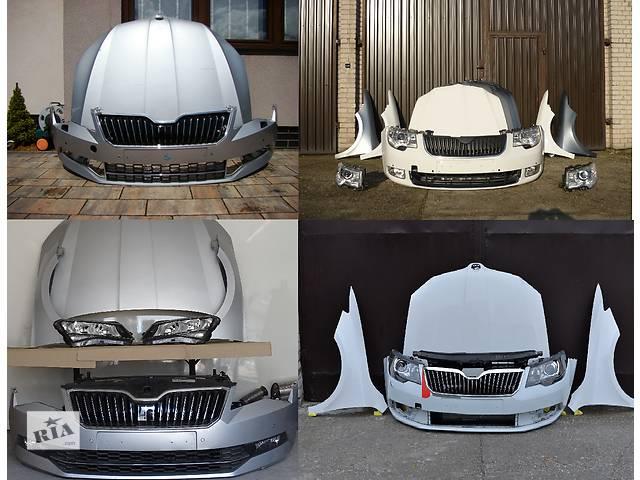 купить бу Б/у капот для легкового авто Skoda SuperB в Львове