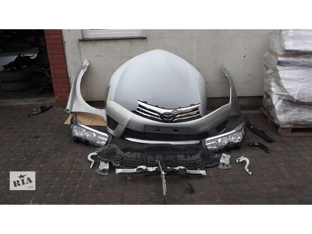 купить бу Б/у капот для седана Toyota Corolla E16 2013 2014 2015 в Киеве
