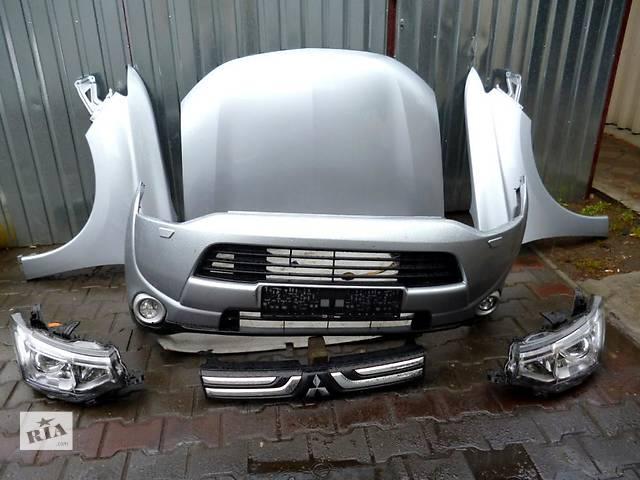 купить бу Б/у Капот Mitsubishi Outlander 2013-2014 в Киеве