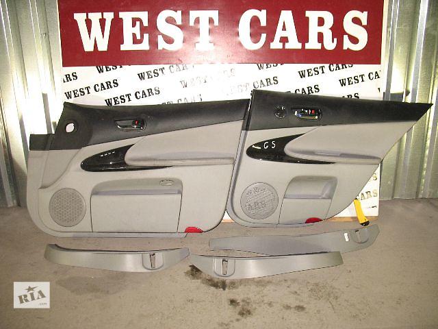 бу Б/у карта двери для легкового авто Lexus GS 2006 в Луцке