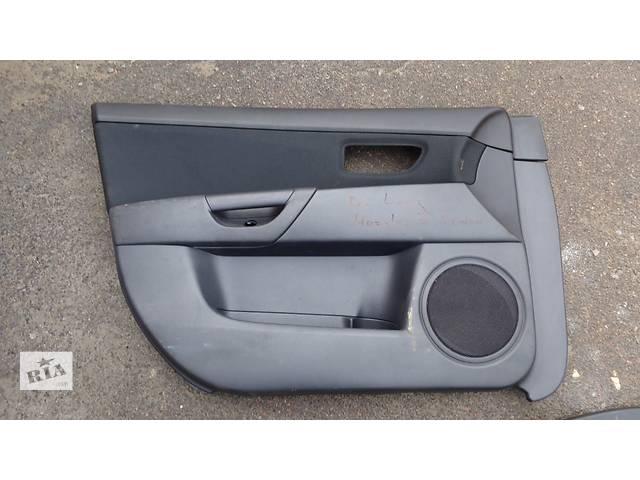 бу Б/у карта двери для седана Mazda 3 в Львове