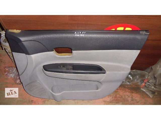 бу Б/у карта двери передняя правая для легкового авто Hyundai Accent 2008 в Коломые