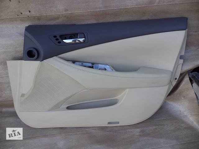 продам Б/у карта двери передняя правая 67610-33B40-A0 для седана Lexus ES 350 2007г бу в Николаеве
