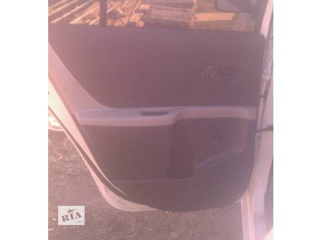 бу Б/у карта двери задняя левая 67640-0D390-C0 для хэтчбека Toyota Yaris 2007г в Киеве
