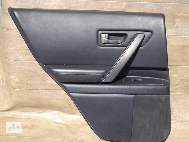 купить бу Б/у карта двери задняя левая для кроссовера Infiniti FX35 2007г в Киеве