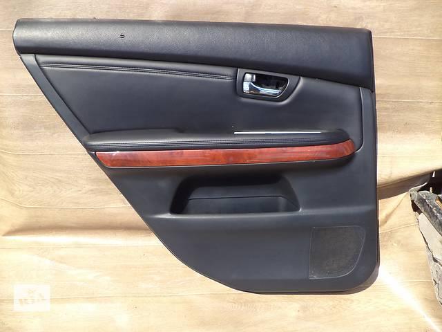 продам Б/у карта двери задняя левая 67640-48240-C1 для кроссовера Lexus RX 350 2007г бу в Киеве