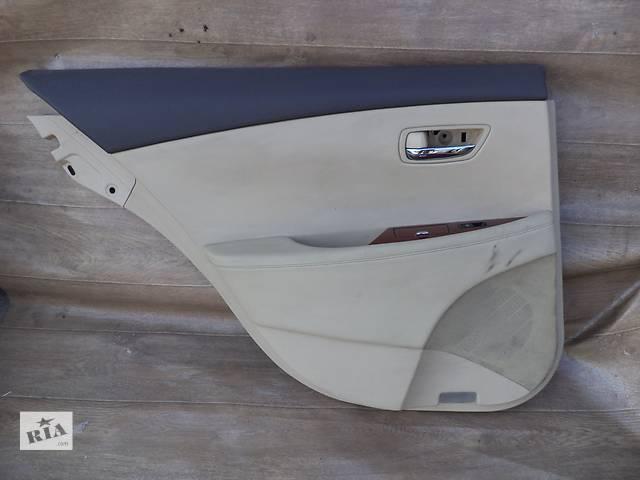 Б/у карта двери задняя левая 67640-33790-A0 для седана Lexus ES 350 2007г- объявление о продаже  в Николаеве