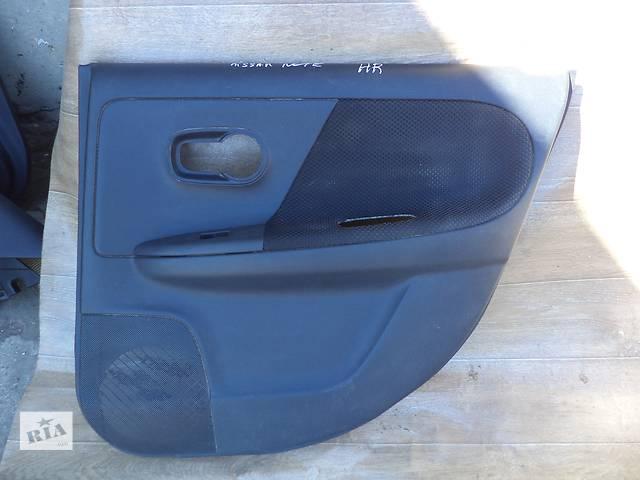 Б/у карта двери задняя правая 82900-9U02B для хэтчбека Nissan Note 2006г- объявление о продаже  в Николаеве