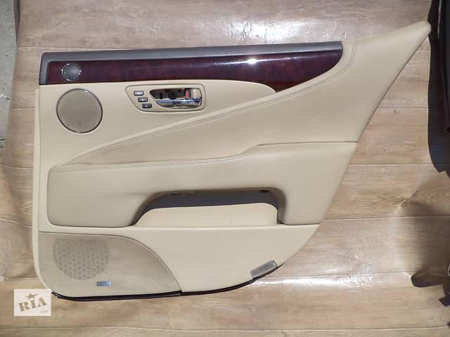продам Б/у карта двери задняя правая для седана Lexus LS 460L 2007г бу в Киеве