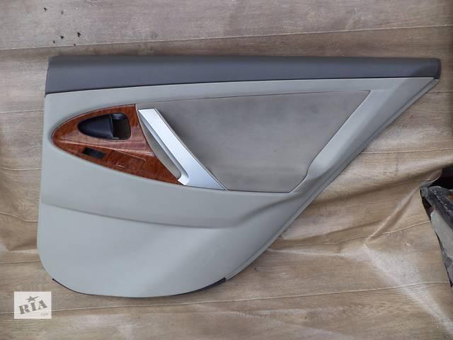 бу Б/у карта двери задняя правая 67630-33770-B2 для седана Toyota Camry SV40 2007г в Николаеве