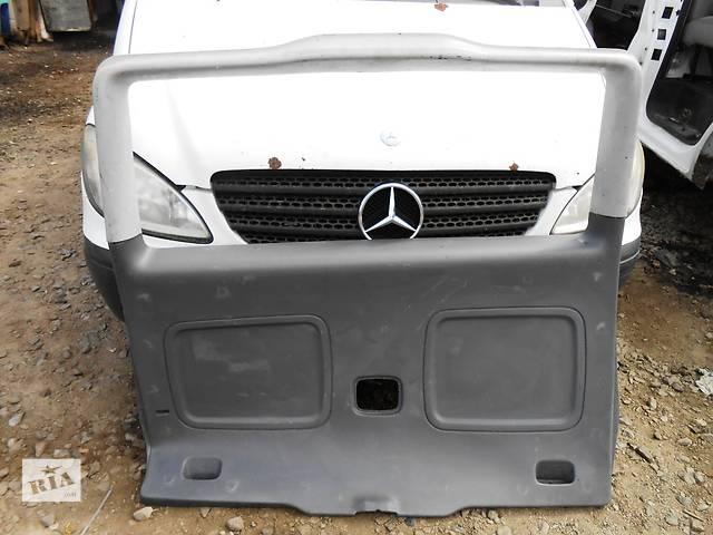 Б/у карта крышки багажника для легкового авто Mercedes Vito (Viano) Мерседес Вито (Виано) V639 (109, 111, 115, 120)- объявление о продаже  в Ровно