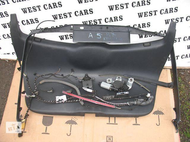 бу Б/у карта крышки багажника для легкового авто Skoda Octavia A5 в Луцке