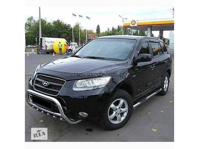 продам Б/у кенгурятник для хэтчбека Hyundai Santa FE бу в Киеве