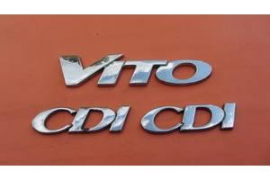 б/у Хромированные накладки Mercedes Viano груз.
