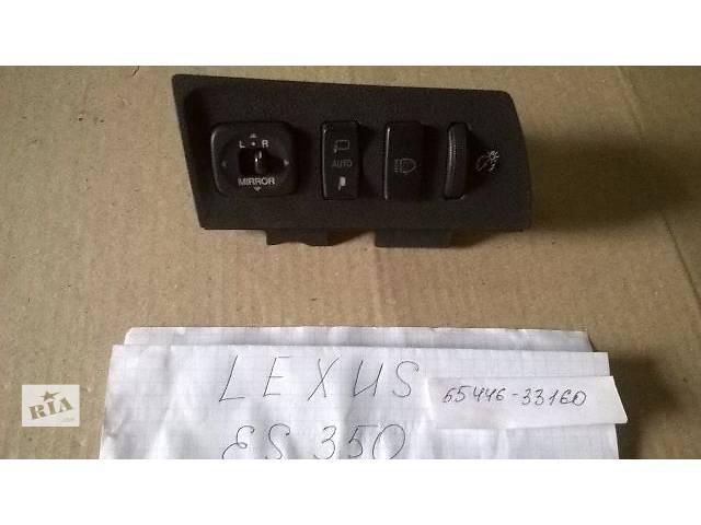 Б/у блок кнопок управления в торпедо 55446-33160-C0 для седана Lexus ES 350 2007г- объявление о продаже  в Киеве