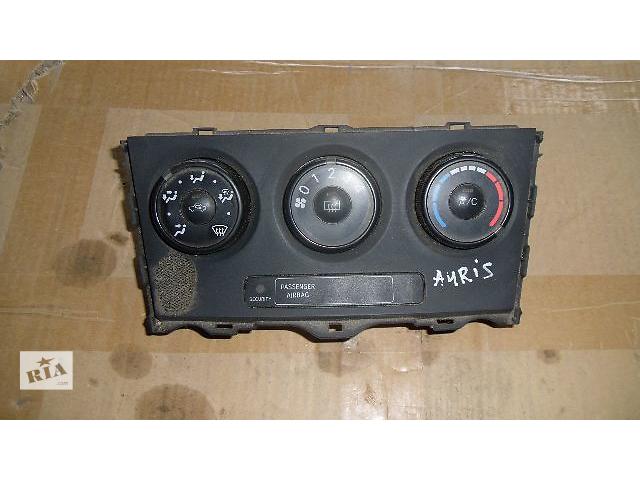 Б/у кнопки включения печки для легкового авто Toyota Auris 2008- объявление о продаже  в Коломые