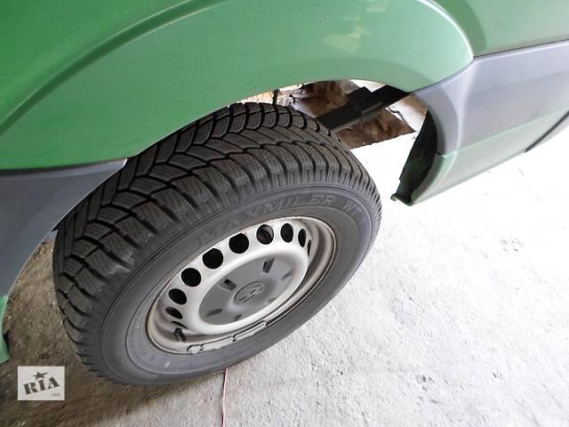 купить бу Б/у Колеса и шины Диск R16 Резина Автобусы Volkswagen Crafter Фольксваген Крафтер 2.5 TDI 2006-2010 в Луцке