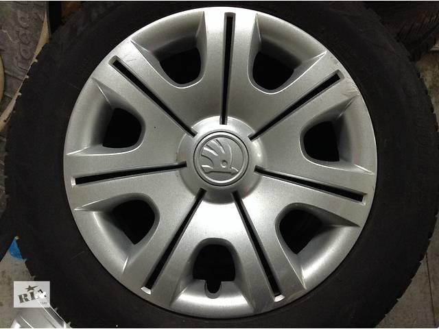 купить бу Б/у колпак на диск для легкового авто Skoda Fabia в Львове