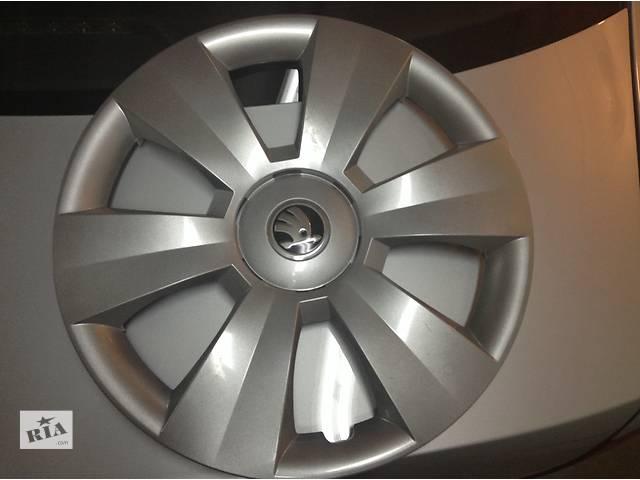 продам Б/у колпак на диск для легкового авто Skoda Rapid бу в Львове
