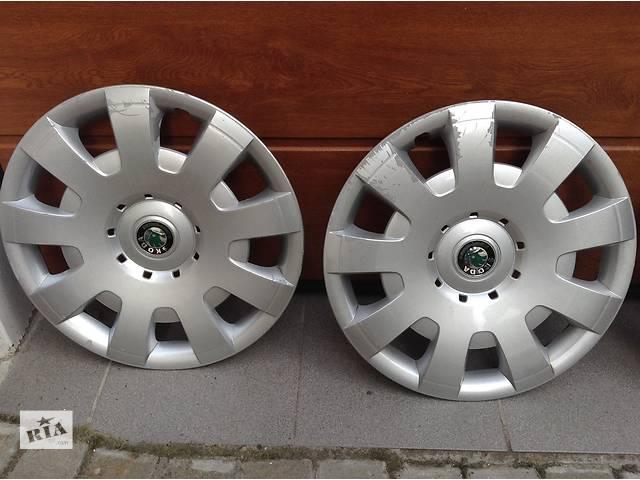 бу Б/у колпак на диск для легкового авто Skoda SuperB в Львове