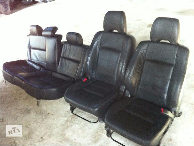 продам Б/у Комплект кожаных сидений Subaru Forester Хэтчбек 2003-2007г бу в Львове