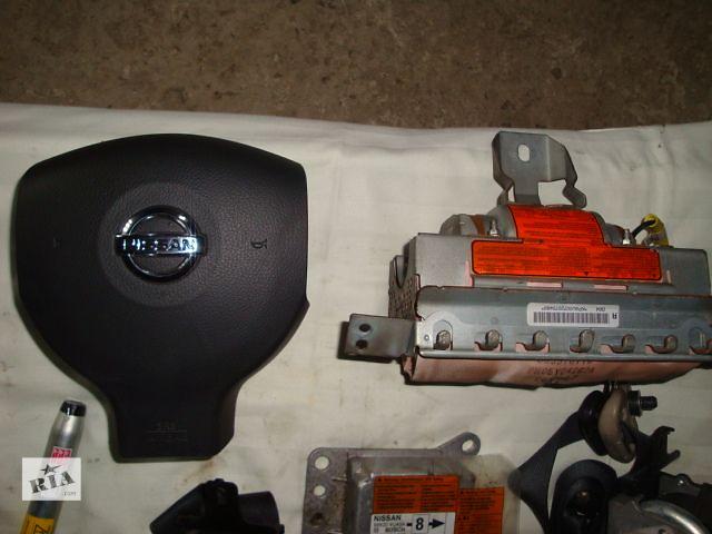 продам б/у Комплект подушек безопастности Nissan Note 2003-2008г бу в Львове