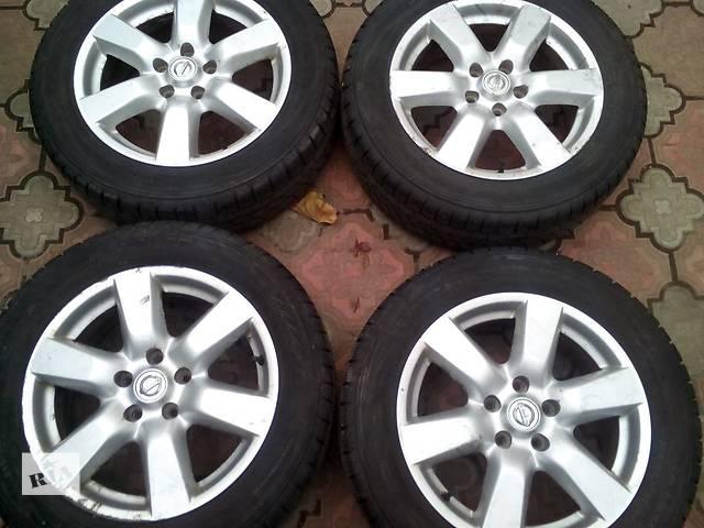 купить бу Б/у Комплект зимних колес (диски с шинами) для Nissan X-Trail Т31 в Киеве