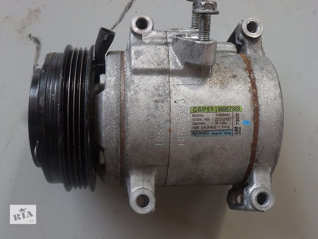 бу Б/у компрессор кондиционера для легкового авто Chevrolet Spark 1.0 в Ровно