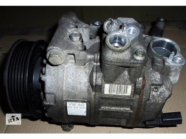 купить бу Б/у Компрессор кондиционера кондиціонера Volkswagen Crafter Фольксваген Крафтер 2.5 TDI 2006-2010 в Рожище