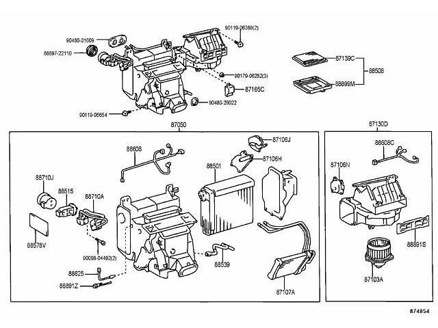 продам Б/у корпус печки для седана Lexus GS 300 1999г бу в Николаеве