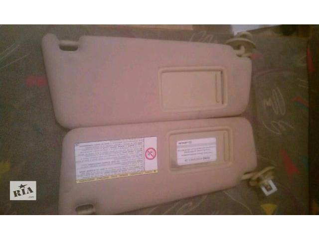 продам Б/у козырёк солнцезащитный 74310-30A40-A0, 74320-30A40-A0 для седана Lexus GS 300 2005-2009 бу в Николаеве