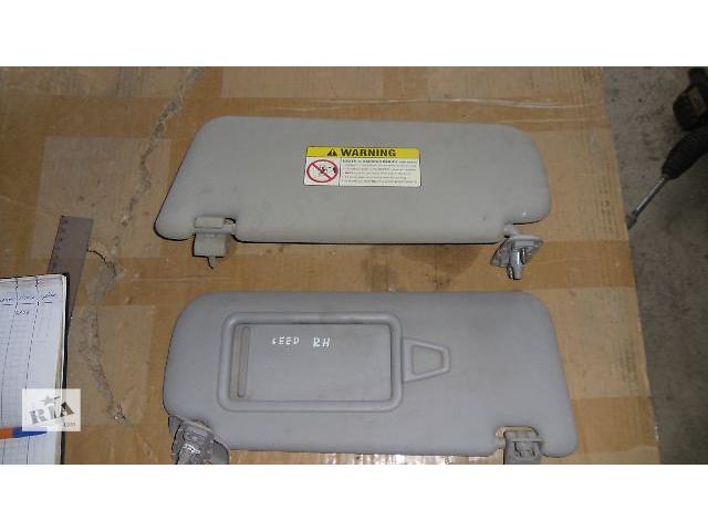 Б/у козырёк солнцезащитный правый для легкового авто Kia Ceed 2008- объявление о продаже  в Коломые