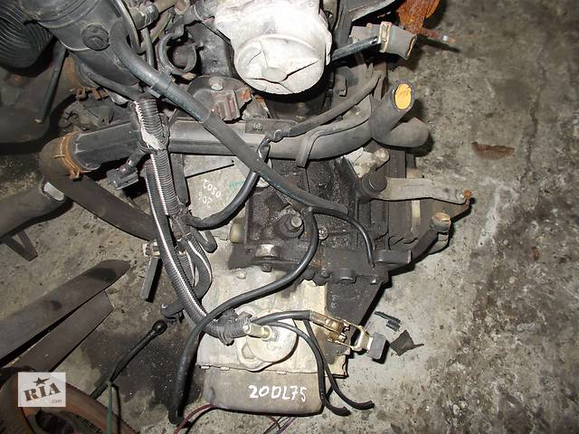 купить бу Б/у Коробка передач КПП Peugeot 206 1.9 d № 20DL75 в Стрые