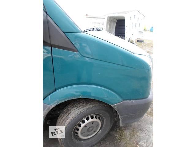купить бу Б/у Крыло переднее для автобуса Volkswagen Crafter Фольксваген Крафтер 2.5 TDI 2006-2010 в Рожище