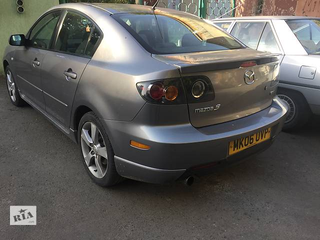 Б/у крыло заднее для седана Mazda 3 Sedan- объявление о продаже  в Ужгороде
