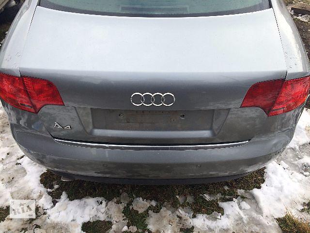 Б/у крышка багажника  Audi A4  (В7) 2005-2007- объявление о продаже  в Львове