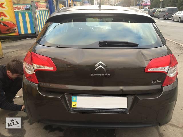 продам Б/у крышка багажника Citroen C4, стекло, карта, фонари, моторчик дворника бу в Вышгороде
