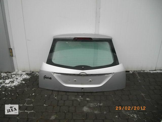 Б/у крышка багажника для хэтчбека Ford Focus 2001- объявление о продаже  в Львове