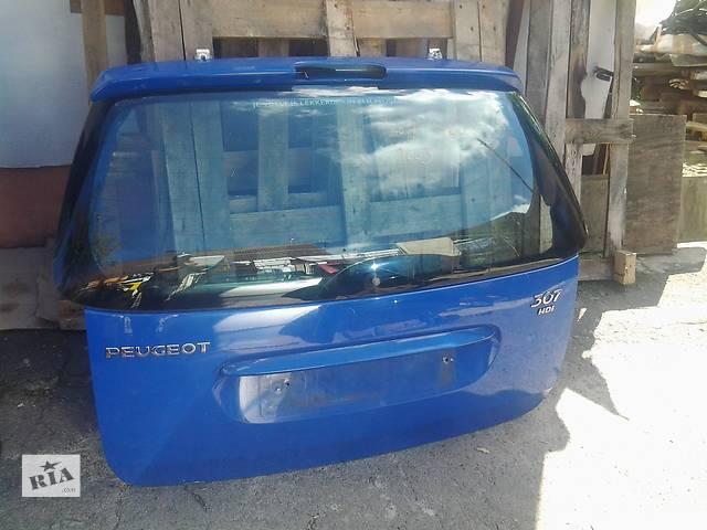 продам Б/у крышка багажника для хэтчбека Peugeot 307 бу в Ковеле