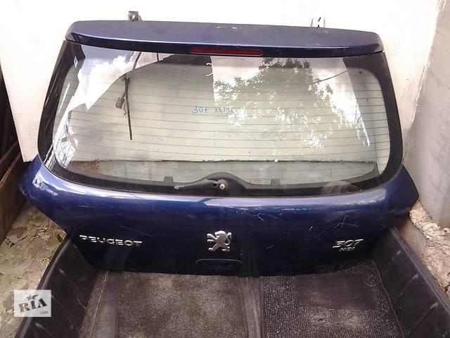 бу Б/у крышка багажника для хэтчбека Peugeot 307 в Ковеле